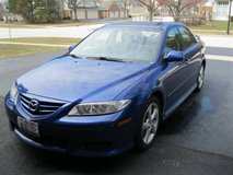 2005 Mazda 6 i Sport w/Bose, sunroof, clean carfax in Plainfield, Illinois