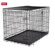 48x30x30 xlarge Double door dog cage in Joliet, Illinois