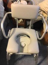 Shower Chair/Commode in Aurora, Illinois