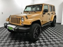 2014 Jeep Wrangler Unlimited 4x4 4WD SUV Sahara Convertible in Tacoma, Washington