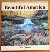 Beautiful America 2019 Wall Calendar in Aurora, Illinois