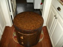 DRUM TABLE MAP OF THE WORLD MOTIF in Tinley Park, Illinois