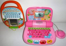 Vtech Learning Touch Tablet + Tote n Go Laptop in New Lenox, Illinois
