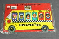 magnetic school bus photo frame in Kingwood, Texas