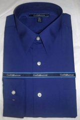 New! Sz: Men's  Med Croft & Barrow Blue Classic Fit Dress Shirt in Chicago, Illinois