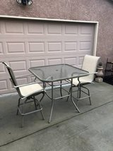 3 Piece Pub Stle Patio Set in Travis AFB, California