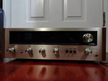 VINTAGE 1972 PIONEER -SX-424 RECEIVER wood case silver face in Fairfield, California