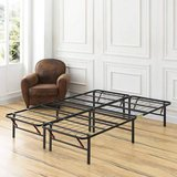 Heavy-Duty 14-Inch Platform Metal Bed Frame Queen Size - New! in Lockport, Illinois