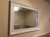 White large mirror for bathroom, hall or bedroom in Longview, Texas