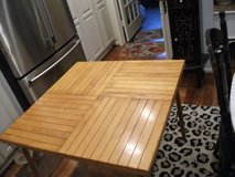 FOLDING ALL WOOD TABLE FROM TELESCOPE COMPANY in Naperville, Illinois