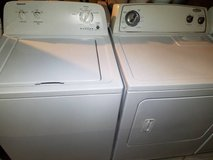 Like New Whirlpool Admiral Washer Dryer Set in Fort Rucker, Alabama