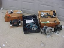 Attention Flea Marketers Big Lot Of Power Tools in Tinley Park, Illinois
