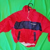 official nfl houston texans red / blue wind breaker jacket child's 3t in The Woodlands, Texas