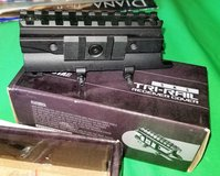 brand new ncstar sks receiver top cover tri-rail weaver  picatinny scope mount in The Woodlands, Texas