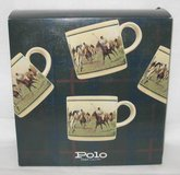 Set of 4 Ralph Lauren Polo 12 oz Signature Mugs - SPORT SERIES MUGS in Plainfield, Illinois