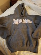 Heavy grey NAU hoodie for ladies in Camp Pendleton, California