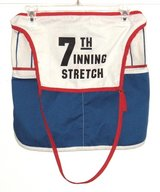RARE Vintage Chicago Cubs 7th Inning Stretch Usher Vendor Money Pouch Apron in Joliet, Illinois