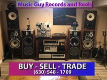 Vinyl and Reel to Reel tapes WANTED. in Lockport, Illinois