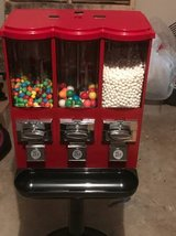 Triple Gumball and Candy Bulk Vending Machines in Pasadena, Texas