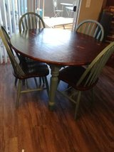 Shabby Chic Round Dinner Table with Chairs in Phoenix, Arizona