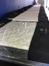 Bed Set Queen size Pillow Top Mattress, Box and Frame! New for only... in Camp Pendleton, California