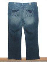 Womens 14 Ruff Hewn Comfort Waist Boot Cut Denim Jeans Womens 14 in Chicago, Illinois