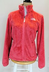 The North Face Salmon Colored Fleece Zip Jacket, Women's Medium in Joliet, Illinois