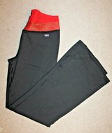 Victoria's Secret VSX - Sexy Sport Pants, Black w/Red/Sparkle Waistband, Med Short in Joliet, Illinois