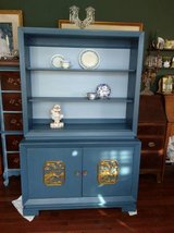 Handpainted Display Cabinet in Westmont, Illinois