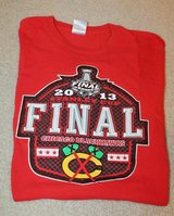 Chicago Blackhawks 2013 Stanley Cup Final SS Tee, Red Heavy Cotton Gildan, Large in Chicago, Illinois