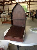 Vintage Wooden Church Stand in Baytown, Texas