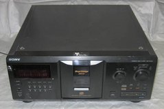 SONY Mega Storage 300 Compact Disc CD Player Changer Model CDP-CX355 in Naperville, Illinois