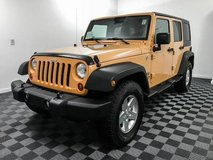 2012 Jeep Wrangler Unlimited 4x4 4WD SUV Sport Convertible in Fort Lewis, Washington