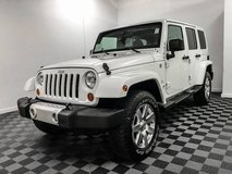 2012 Jeep Wrangler Unlimited 4x4 4WD SUV Sahara Convertible in Fort Lewis, Washington