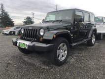 2011 Jeep Wrangler Unlimited 4x4 4WD SUV Sahara Convertible in Fort Lewis, Washington