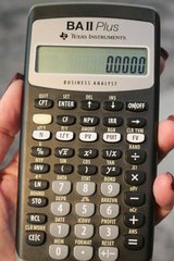 Texas Instruments BAII Plus Professional Financial Calculator - Case & Manual in Aurora, Illinois