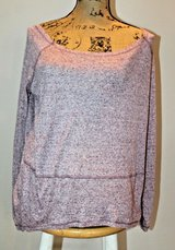 We the Free Casual High/Low Loose Polyester/Linen Blend Top, X-Small in Westmont, Illinois
