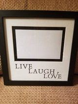 "New black frame ""Live,Laugh,Love from Kohl's in Camp Pendleton, California"