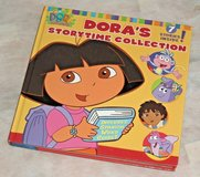 Vintage Nick Jr Dora The Explorer 7 Story Time Collection Hard Cover Book Nickelodeon in Morris, Illinois