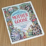 Vintage 1986 Random House Mother Goose 306 Timeless Nursery Rhymes Hard Cover Book in Chicago, Illinois