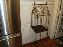 REDUCED----DECORATIVE BIRD CAGE WITH STAND in Naperville, Illinois