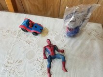 """Mixed lot of SPIDER-MAN Figures 3"""" to 5"""" tall. 3 pcs. in Spring, Texas"""