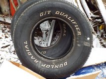 2 G/T Qualifier Dunlop Radial Tires P255 70R15 108S in Great Lakes, Illinois