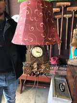 Vintage Clock Lamp in Baytown, Texas