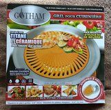Gotham Steel Nonstick Smokeless Indoor Stove Top Grill BBQ - NEW in Naperville, Illinois
