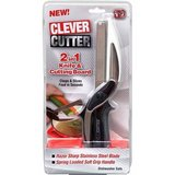 CLEVER CUTTER - 2 in 1 Knife & Cutting Board - NEW in Naperville, Illinois