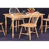 5 Piece Coaster Dining Set (Natural Wood) - NEW At Level One Warehouse in Brookfield, Wisconsin