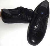 New! Sz 7.5 Easy Spirit Black Croc Leather Lace Up Shoes in Chicago, Illinois