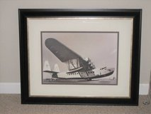 ART - MATTED & FRAMED SIKORSKY AIRPLANE PRINT - Unique in Chicago, Illinois