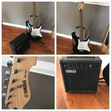 Yamaha Electric Guitar with Boom Box in Wheaton, Illinois